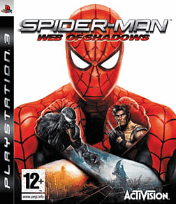 Spider-Man: Web of Shadows PlayStation 3 Cover Art