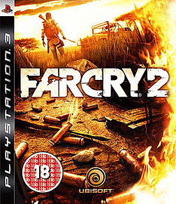 Far Cry 2 PlayStation 3 Cover Art