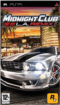 Midnight Club: LA Remix PSP Cover Art