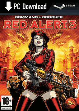 Command and Conquer Red Alert 3 PC Games and Downloads Cover Art