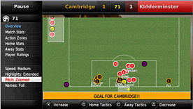 Fifa Manager 09 screen shot 4