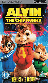 Alvin and the Chipmunks PSP