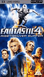 Fantastic Four: Rise of the Silver Surfer PSP