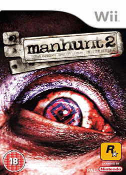Manhunt 2 Wii Cover Art