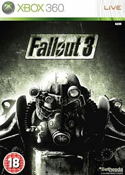 Fallout 3 Xbox 360 Cover Art