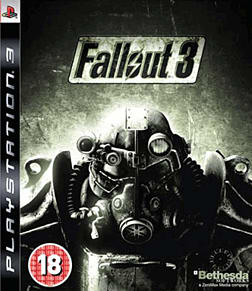Fallout 3 PlayStation 3 Cover Art