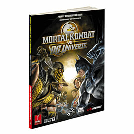 Mortal Kombat vs DC Universe Strategy Guide Strategy Guides and Books