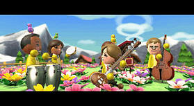 Wii Music (Wii Balance Board Compatible) screen shot 3