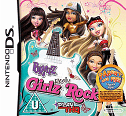 Bratz Girlz Really Rock DSi and DS Lite Cover Art