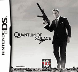 James Bond 007: Quantum of Solace DSi and DS Lite Cover Art