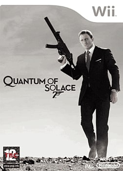 James Bond 007: Quantum of Solace Wii Cover Art
