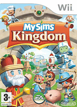 MySims Kingdom Wii Cover Art