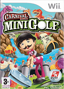 Carnival Funfair Games: MiniGolf Wii Cover Art