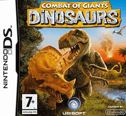 Combat of Giants: Dinosaurs DSi and DS Lite Cover Art