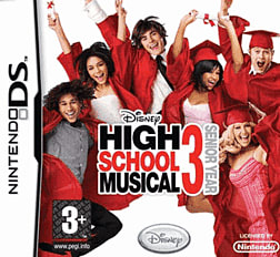 High School Musical 3: Senior Year DSi and DS Lite Cover Art