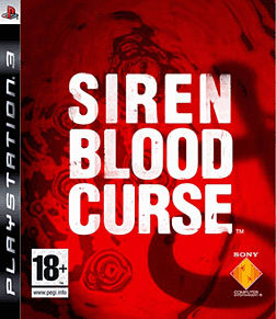 Siren Blood Curse PlayStation 3 Cover Art