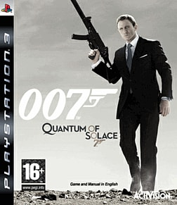 James Bond 007: Quantum of Solace PlayStation 3 Cover Art
