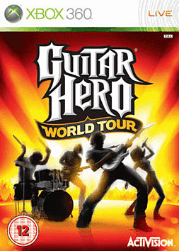 Guitar Hero: World Tour (Software Only) Xbox 360 Cover Art