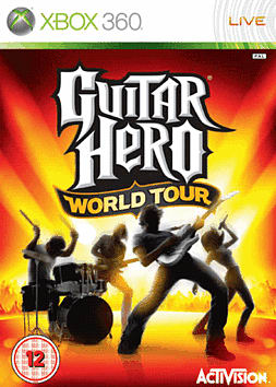 Guitar Hero: World Tour (Solo Guitar Pack) Xbox 360
