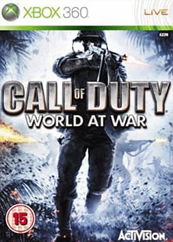 Call of Duty: World at War Xbox 360 Cover Art