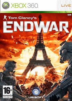 Tom Clancy's EndWar Xbox 360 Cover Art
