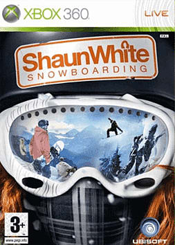 Shaun White Snowboarding Xbox 360 Cover Art