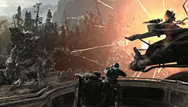 Gears of War 2 screen shot 2