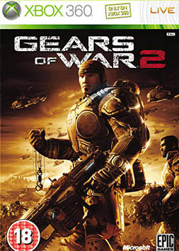 Gears of War 2 Xbox 360 Cover Art