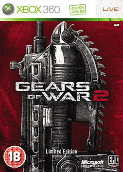 Gears of War 2 Limited Collectors Edition Xbox 360 Cover Art