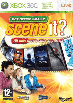 Scene It? Box Office Smash Solus Software Xbox 360 Cover Art
