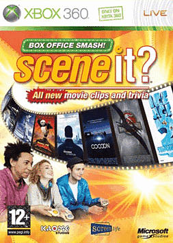 Scene It? Box Office Smash with 4 Big Button Controllers Xbox 360 Cover Art