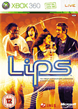 Lips with 2 Wireless Motion-Sensing Microphones Xbox 360
