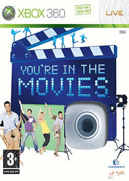 You're in the Movies with Live Vision Camera Xbox 360 Cover Art