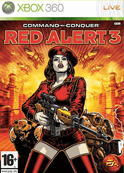 Command & Conquer: Red Alert 3 Xbox 360 Cover Art