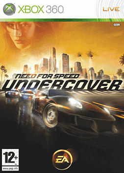 Need for Speed: Undercover Xbox 360 Cover Art