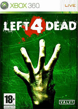 Left 4 Dead Xbox 360 Cover Art