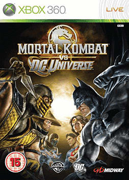 Mortal Kombat vs DC Universe Xbox 360 Cover Art