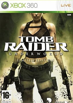 Tomb Raider: Underworld GAME Exclusive Limited Edition Xbox 360 Cover Art