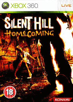Silent Hill: Homecoming Xbox 360 Cover Art