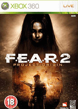 F.E.A.R. 2: Project Origin Xbox 360 Cover Art