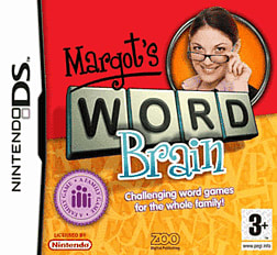Margot's Word Brain DSi and DS Lite Cover Art