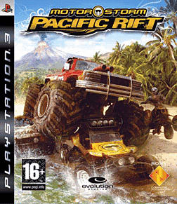 Motorstorm: Pacific Rift PlayStation 3 Cover Art