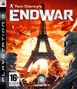 Tom Clancy's EndWar PlayStation 3 Cover Art