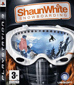 Shaun White Snowboarding PlayStation 3 Cover Art