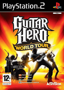 Guitar Hero: World Tour (Software Only) PlayStation 2 Cover Art