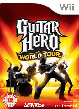 Guitar Hero: World Tour (Software Only) Wii Cover Art