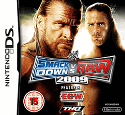 WWE SmackDown vs Raw 2009 DSi and DS Lite Cover Art