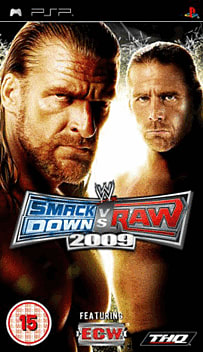 WWE SmackDown vs Raw 2009 Cool Stuff