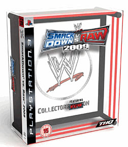 WWE Smackdown vs Raw 2009 Collector's Edition PS3 Cover Art