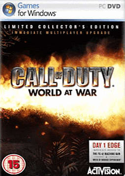 Call of Duty: World at War GAME Exclusive Collector's Edition PC Games and Downloads Cover Art
